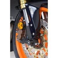 R&G Racing Fork Protectors Black for Honda CBR600RR 07-16