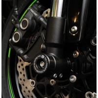 R&G Racing Fork Protectors Black for Kawasaki ZX10-R 08-15