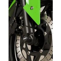 R&G Racing Fork Protectors Black for Kawasaki Ninja 250 08-12
