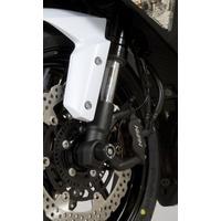 R&G Racing Fork Protectors Black for Kawasaki ZX6-R