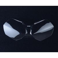 R&G Racing Headlight Shield Clear for Triumph Tiger 800 11-17/Tiger Explorer 1200 12-17