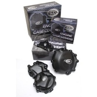 R&G Racing Engine Case Cover Kit (3 Piece) Black for BMW HP4 09-14/S1000R 14-16/S1000RR 10-16