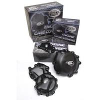 R&G Racing Engine Case Cover Kit (2 Piece) Black for KTM 690 Duke IIII 12-14/690 SMCR 2019