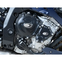 R&G Racing Engine Case Cover Kit (4 Piece) Black for BMW HP4 09-14/S1000R 14-16/S1000RR 10-14