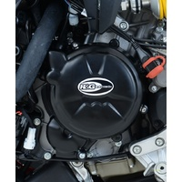 R&G Racing Engine Case Cover Kit (2 Piece) Black for Ducati 1199 Panigale 12-15/1299 Panigale 15-17