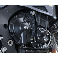 R&G Racing Engine Case Cover Kit (3 Piece) Black for Yamaha MT-10 16-20