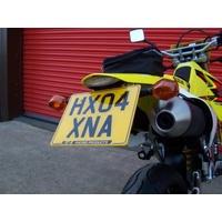 R&G Racing Tail Tidy License Plate Holder Black for Suzuki DRZ400 03-19/DRZ400 Supermoto 05-20