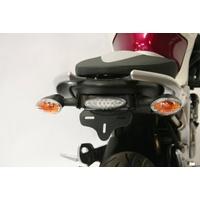 R&G Racing Tail Tidy License Plate Holder Black for Suzuki Gladius 650 09-16