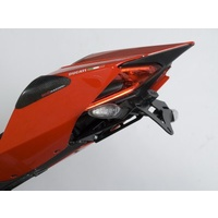 R&G Racing Tail Tidy License Plate Holder Black for Ducati 1199 Panigale 12-15/1299 Panigale 15-17/899 Panigale 13-15/959 Panigale 16-19