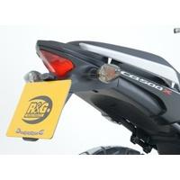 R&G Racing Tail Tidy License Plate Holder Black for Honda CB400X 19-20/CB500F 13-15/CB500X 13-20/CBR500R 13-15