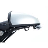 R&G Racing Tail Tidy License Plate Holder Black for BMW R NINE T 14-18 (Swingarm Mounted w/Pillion Seat/Speedhump)