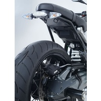 R&G Racing Tail Tidy License Plate Holder Black for BMW R NINE T 14-18 (w/Replacement Rear Light)