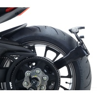 R&G Racing Tail Tidy License Plate Holder Black for Ducati XDiavel 16-20