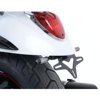 R&G Racing Tail Tidy License Plate Holder Black for Kawasaki Vulcan VN900 Custom 07-Up
