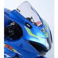 R&G Racing Mirror Blanking Plates Black for Suzuki GSX-R1000/GSX-R1000R 17-20