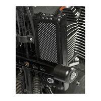 R&G Racing Oil Cooler Guard Black for Harley Davidson XR1200 08-12