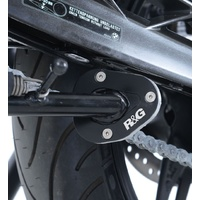 R&G Racing Kickstand Shoe Silver for BMW G310R 17-19