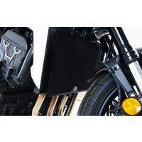 R&G Racing Radiator Guard Black for Honda CBF1000 ABS 11-18