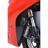 R&G Racing Radiator Guard Black for Ducati 1199 Panigale 12-15/1299 Panigale 15-17/899 Panigale 13-15/959 Panigale 16-19Ducati Panigale V2 2020