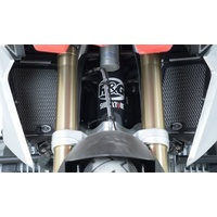 R&G Racing Radiator Guard Black for BMW R1200GS 13-18/BMW R1200GS Adventure 13-18