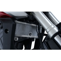 R&G Racing Radiator Guard Black for Honda CB125R 18-20
