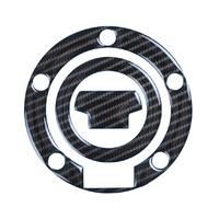 R&G Racing Red Dynamic Carbon Fibre Fuel Cap Protector for Yamaha Models