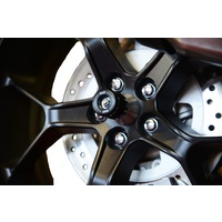 R&G Racing Spindle Sliders Black for Honda CB1000R/CB1000R PLUS 18-20