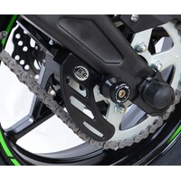 R&G Racing Toe Chain Guards (Road Racing) Black for various Motorcycle Models