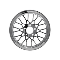 """Ride Wright RID-02006-66-1MS Mesh 66T x1"""" Pulley Chrome for Twin Cam Style"""