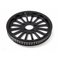 "Ride Wright RID-02006-66-20KS-BLK Klassic 66T x 3/4"" Pulley Twin Cam Style Black"