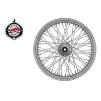 "Ride Wright RID-03228-00SC-NG Traditional 80 Spoke Wheel NG 21"" x 2.15"" Chrome Rim w/Stainless Steel Spokes"