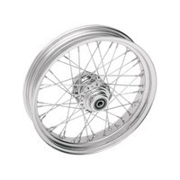 "Ride Wright RID-03634-00SC Traditional 40 Spoke Wheel 16"" x 3.5"" Chrome Rim w/Stainless Steel Spokes"