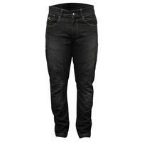 Rjays Reinforced Stretch Mens Jeans Black