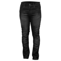 Rjays Reinforced Stretch Ladies Jeans Black