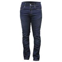 Rjays Reinforced Stretch Ladies Jeans Blue