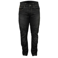 RJAYS REINFORCED ORIGINAL CUT MENS JEANS BLACK