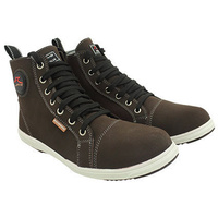 Rjays Ace Boots Nubuck Dark Brown
