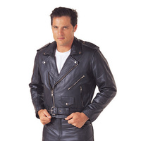RJAYS LEATHER CRUISER JACKET MENS