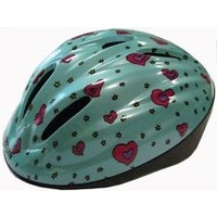 RJAYS BAMBINO PLUS (52-56CM) TEAL HEARTS BICYCLE - AUSSIE SELLER