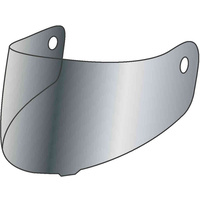 Rjays Coated Silver Visor for Dominator+/GP3+/Tour-Tech/Striker Helmets