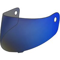 Rjays Coated Blue Visor for Apex/Apex II Helmets
