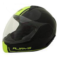 Rjays Tour-Tech III Helmet Gloss Black/Hi Viz
