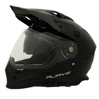 Rjays Dakar II Helmet Gloss Black