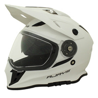 Rjays Dakar II Helmet Gloss White