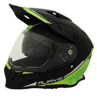 Rjays Dakar II Helmet Matte Black/Hi Viz