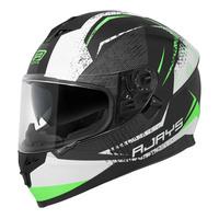 Rjays Dominator II Helmet Strike Matte Black/Green