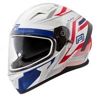 Rjays Apex III Helmet Ignite White/Blue