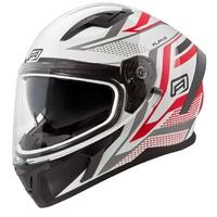 Rjays Apex III Helmet Ignite White/Red