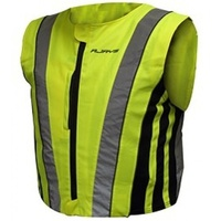 RJAYS PREMIUM SAFETY VEST - HI VIZ YELLOW