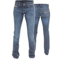 RST Ladies Straight Leg Kevler Jeans Blue
